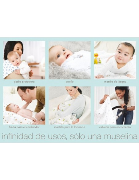 MUSELINA 2027G MOD ABOUT BABY ADEN+ANAIS