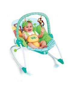 HAMAQUITA BS60127 ROCKER PEEK-A-ZOO BRIGHT STARS