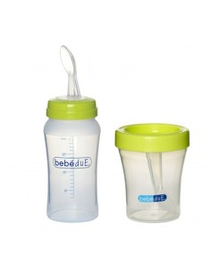 BIBERON CUCHARA 80169 +VASO 230ML BEBE DUE