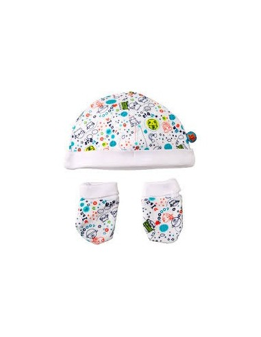 GORRO Y MANOPLAS 38097 PLAN PLANET TUC TUC