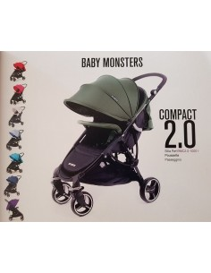 SILLA DE PASEO COMPACT 2.0 BABY MONSTERS