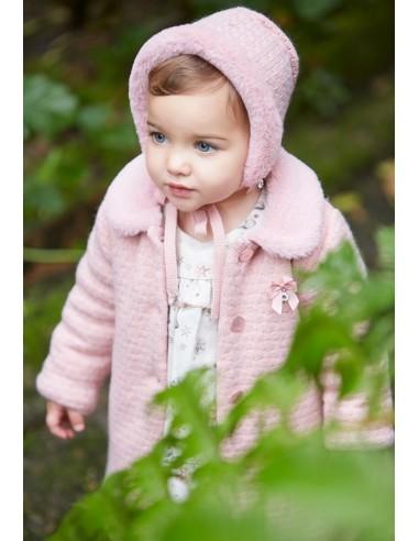 Abrigo para niña LUNA PAZ Rodríguez | Cómo queda puesto