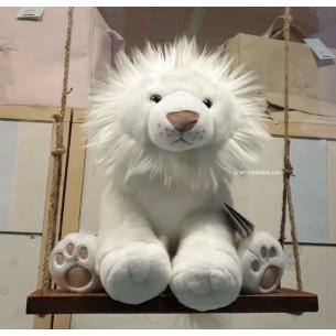 Peluche con forma de león muy suave, de 40cm. de alto, de la marca francesa Histoire d'Ours